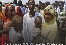 Photo of At Least 83 Killed in Fighting in Sudan's Darfur