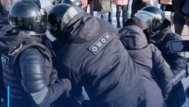 Photo of International Nonviolence Organization calls on the Russian authorities to stop the repression