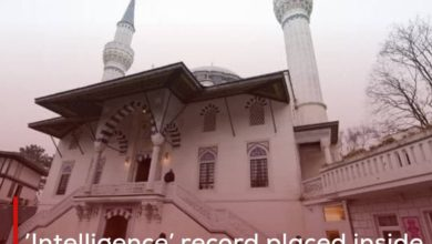 Photo of 'Intelligence' record placed inside the mosques of Germany provokes its Muslims