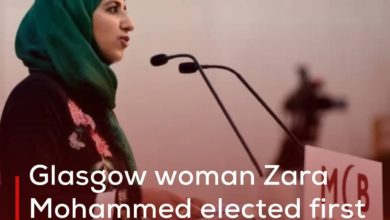 Photo of Glasgow woman Zara Mohammed elected first female head of Muslim Council of Britain