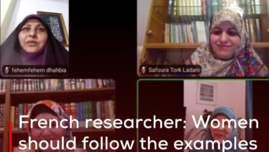 Photo of French researcher: Women should follow the examples from the life of Lady Zahraa, peace be upon her