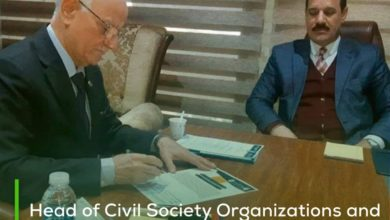 Photo of Head of Civil Society Organizations and Parliamentary Development Committee declares his solidarity with the charter for the protection of orphans in Iraq