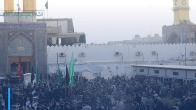 Photo of Millions of people commemorate the martyrdom anniversary of Imam al-Hadi at his holy shrine in Samarra