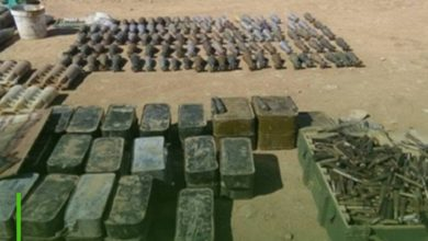 Photo of Iraqi forces raid ISIS hideout and seize ammunition and IEDs in Diyala