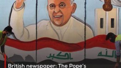 Photo of British newspaper: The Pope's visit to Najaf is a message to the world that this city represents the center of moderate Shiism and its capital