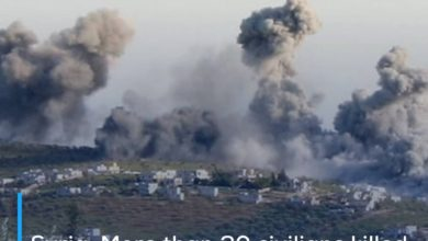 Photo of Syria: More than 20 civilians killed and wounded due to the explosion of landmines in Hama