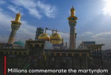 Photo of Millions commemorate the martyrdom anniversary of Imam al-Kadhim in the holy city of al-Kadhimiya