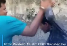 Photo of Uttar Pradesh: Muslim Child Thrashed For Drinking Water Inside Temple, Ghaziabad Police Arrests Attacker