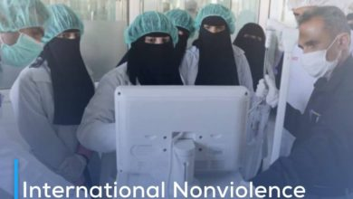Photo of International Nonviolence Organization: Yemen is on the brink of abyss due to Corona