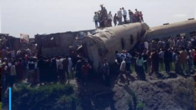 Photo of More than 30 killed as two trains collide in Egypt