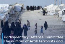 Photo of Parliamentary Defense Committee: The number of Arab terrorists and their families in al-Hol camp near the Iraqi border exceeds 24,000