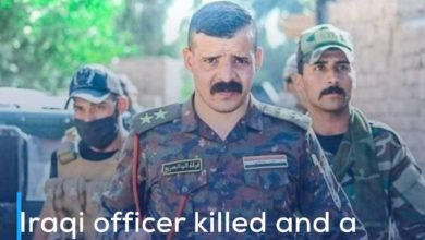 Photo of Iraqi officer killed and a number of Rapid Response Forces wounded in Diyala