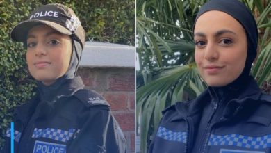 Photo of Leicestershire Police test New Zealand hijab in 'country first'