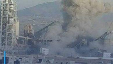 Photo of The Saudi coalition destroys food silos in Hodeidah