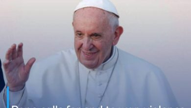 Photo of Pope calls for end to war, violence, and 'race for new weaponry' in Easter message