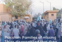 Photo of Pakistan: Families of missing Shias disappointed that their demands have not been heard