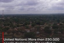 Photo of United Nations: More than 230,000 people displaced by the conflict in Darfur since the beginning of this year
