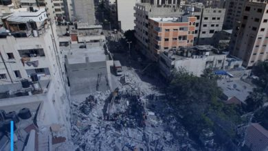 Photo of The death toll from the Israeli strikes on Gaza rose to 197