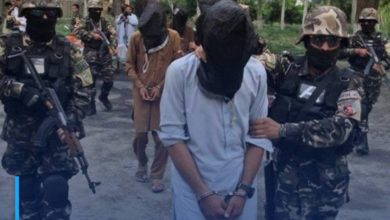 Photo of ISIS terrorist cell arrested in Kabul