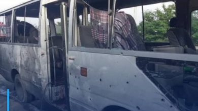 Photo of Four people killed in the explosion of a bus carrying university professors in Kabul
