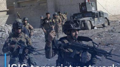 Photo of ISIS terrorist network arrested in Kirkuk