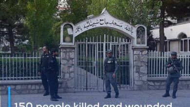 Photo of 150 people killed and wounded in the ranks of the Afghan forces during a day