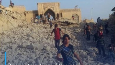 Photo of Reconstruction of the shrine and mosque of the Prophet Yunus, peace be upon him, in Nineveh
