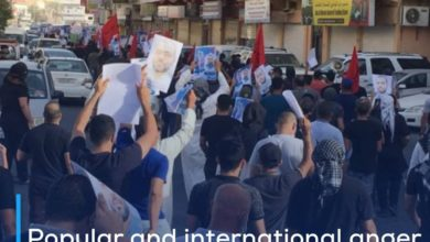 Photo of Popular and international anger after death of Bahraini prisoner of conscience