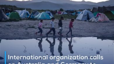 Photo of International organization calls on Australia and Germany to follow up on the tragic conditions of hundreds of Shia refugees