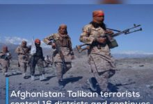 Photo of Afghanistan: Taliban terrorists control 16 districts and continues to expel Afghan security forces