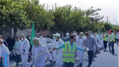Photo of Unified march of Iranian pilgrims towards Karbala launched to commemorate Arbaeen