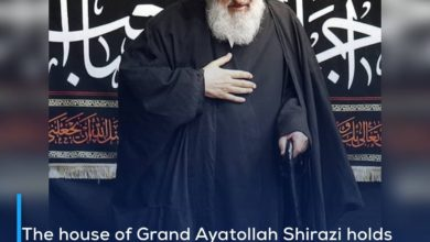 Photo of The house of Grand Ayatollah Shirazi holds mourning ceremonies in commemoration of the martyrdom anniversary of Imam al-Baqir, peace be upon him