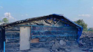 Photo of Mosque in India Capital's Rohingya Camp Bulldozed