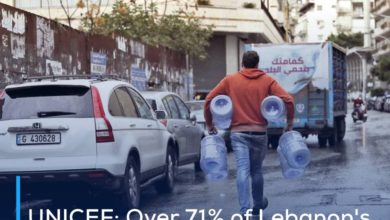 Photo of UNICEF: Over 71% of Lebanon's population risks losing access to safe water