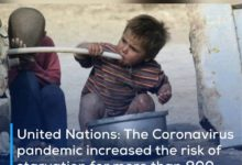 Photo of United Nations: The Coronavirus pandemic increased the risk of starvation for more than 800 million people last year