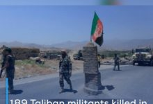 Photo of 189 Taliban militants killed in 24 hours in Afghanistan