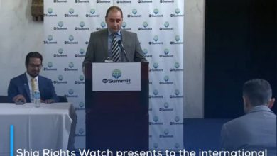 Photo of Shia Rights Watch presents to the international community the suffering of the Rohingya Muslim minority and their forced displacement by the Myanmar authorities