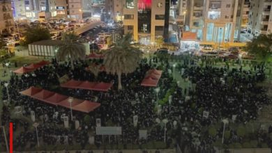 Photo of Wide participation of mourners commemorating Ashura in Kuwait