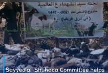 Photo of Sayyed al-Shuhada Committee helps thousands of underprivileged families in 10 countries