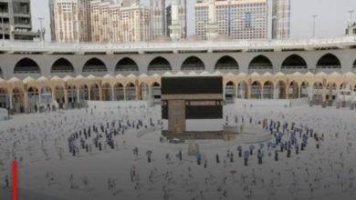 Photo of Saudi Arabia: Umrah pilgrims flock to the Grand Mosque amid precautionary measures