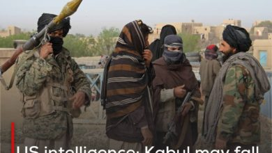 Photo of US intelligence: Kabul may fall into the hands of Taliban terrorists within 90 days