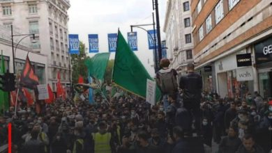 Photo of London witnesses the establishment of the largest march in honor of Imam Hussein, peace be upon him
