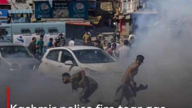 Photo of Kashmir police fire tear gas to disperse a gathering of Shias commemorating Ashura
