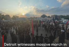Photo of Detroit witnesses massive march in honor of Imam Hussein organized by Imam Jafar al-Sadiq Center