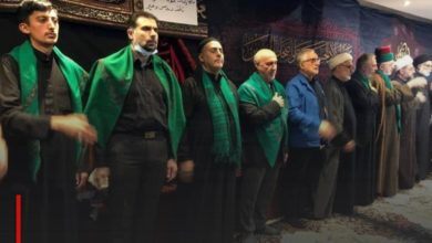 Photo of Representatives of religious and cultural centers attend the mourning ceremonies of Husseiniyat al-Rasool al-Adham in London
