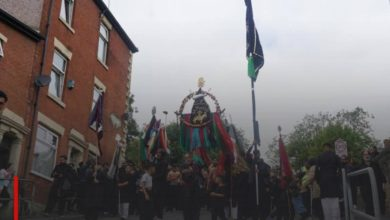 Photo of After lifting Covid-19 restrictions, the largest towns in England witness the launch of a massive Ashura procession