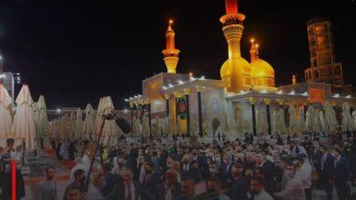 Photo of Macron visits al-Kadhumain Holy Shrine