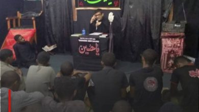 Photo of Shias in Madagascar commemorate the martyrdom anniversary of Imam Zain al-Abideen, peace be upon him