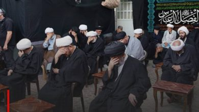 Photo of The house of Grand Ayatollah Shirazi commemorates the martyrdom anniversary of Lady Ruqayya, peace be upon her