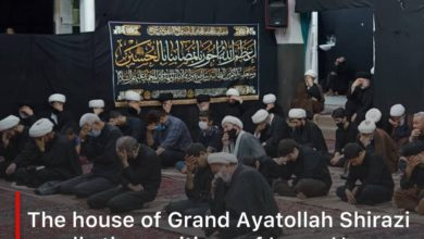 Photo of The house of Grand Ayatollah Shirazi recalls the positions of Imam Hassan al-Mujtaba, peace be upon him, and his sacrifices for the sake of Islam